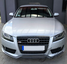 Fits Audi A5 (2007-2011) Non S-Line - Front Lip Spoiler Add On (RS5 Look)