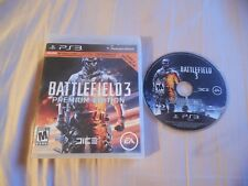 Battlefield 3 -- Premium Edition (Sony PlayStation 3) NO MANUAL