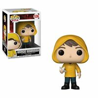 "IT GEORGIE DENBROUGH WITH BOAT 3.75"" POP MOVIES VINYL FIGURE FUNKO 536 NEW"