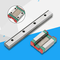LML15B Miniature Linear Rail Guide Block 100mm Length 15mm Width Stable