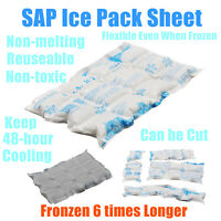 2lbs each. food Ice pack  TWO Lg freezer bags Shipping coolers