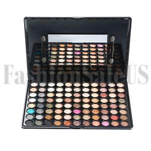 88 Colors Makeup Eyeshadow Cosmetics Beauty Matte Shimmer Eye Shadow Kit Palette