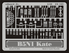 "Eduard Zoom fe162 1/48 Nakajima b5n1 ""Kate' haswegawa"