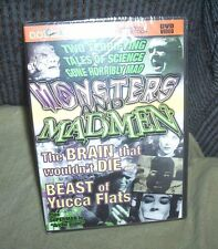 Beast of Yucca Flats-Tor Johnson The Brain That Wouldn't Die Sealed DVD +Bonus