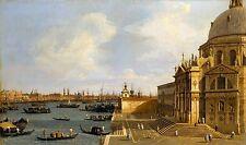 Venice - Santa Maria della Salute by Canaletto Italian Old Masters 11x19 Print