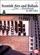 Scottish Airs and Ballads for Autoharp Sheet Music BookAudio SAME DAY DISPATCH