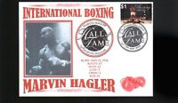 MARVIN HAGLER INTER BOXING HALL OF FAME INDUCTEE COVER