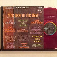 THE BEST OF THE BEST WANDA JACKSON JAPAN RED VINYL LP