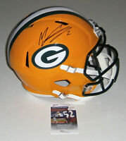 PACKERS Mason Crosby signed full size Speed Rep helmet JSA COA AUTO Autographed