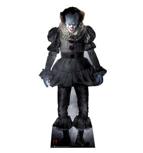 IT Pennywise Clown Stand Up Party Decoration Lifesize Cardboard Cutout Halloween