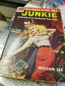Junkie ~ William Lee S. Burroughs First Edition 1st ACE Double JUNKY free ship