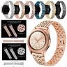 Glänzend Edelstahl Uhrenarmband Strap Für Samsung Galaxy Watch 46mm/42mm/Active2