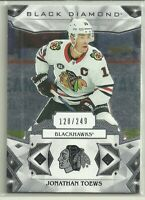 2019 19-20 UD BLACK DIAMOND BASE BLACKHAWKS JONATHAN TOEWS #BDB-TO #'d 120/249