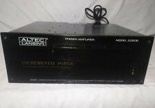 Altec Lansing 2280B Amp Modular Incremental Power Speaker Sound Audio Amplifier