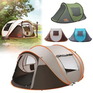 5-8 People Waterproof Portable Automatic Instant Popup Carpa Para Camping Tent