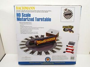 BACHMANN 46299 DCC READY HO MOTORIZED TURNTABLE NOS NEW BOXED (K634)
