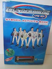 Thunderbirds Are Go!: Stencil Activity Book
