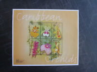 2000 St VINCENT & THE GRENADINES STAMP SHOW ORCHIDS 6 STAMP MINI SHEET