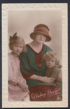 Theatrical Postcard - Actress Gladys Cooper With Children  RS6758