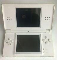 Nintendo DS Lite USG-001- Polar White - not working - FPOR