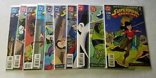 Superman adventures comic lot kids wb 1997 1998