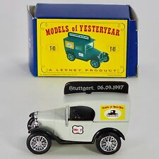 Matchbox Models of Yesteryear Y-65 1928 Austin 7 Van OVP