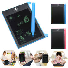 "4.4"" Digital LCD Writing Tablet eWriter Notepad Painting Board Drawing Pads Top"