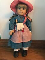 AMERICAN GIRL DOLL KIRSTEN RETIRED, ORIGINAL PLEASANT COMPANY EXCELLENT W/ Stand