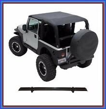Extended Top w/ Windshield Channel for 97-06 Jeep TJ Wrangler