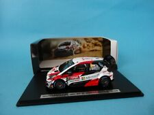 TOYOTA YARIS WRC #8 - OTT TANAK - 1st RALLY TURKEY 2018 1/43 NEW SPARK TOY13143T