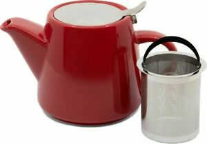 "Whittard of Chelsea ""Pao"" 650ml Tea Pot (Red) With Stainless Infuser"