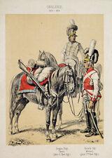 Bayern Uniform Säbel Kavallerie Tornister Karabiner Federbusch Sattel Minucci