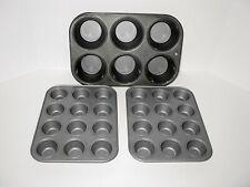 Three Baker'S Secret Ekco Cupcake Muffin Pans for regular & mini size baking!