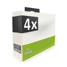 4x MWT Ink Black for Epson Stylus DX-4050 DX-4400 DX-5000 SX-510 SX-415 SX-115