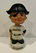 Vintage 1960 's Pittsburgh Pirates MINI Bobblehead Nodder