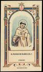 santino-holy card B.PONZIO DE BARELLIS mercedario