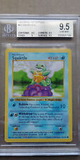 Squirtle 63/102 BGS 9.5 GEM MINT 1999 Pokemon 1st Edition Base Set Shadowless