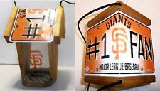 "SAN FRANCISCO GIANTS CEDAR BIRD FEEDER ""Show Your Team Spirit !"""