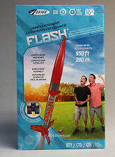 ESTES FLASH MODEL ROCKET LAUNCH SET red body launch pad control 1478 NEW