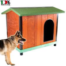 Cuccia da esterno in legno coibentato Comfort mis. 3 per cani pastore tedesco