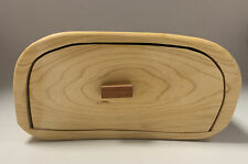 Amish Made Unique Carved from Solid Wood  Drawer Stash Box D