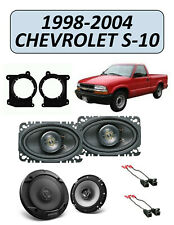 Fits CHEVROLET S-10 1998-2004 Factory Speaker Upgrade Combo Kit, KENWOOD