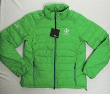 225 Ralph Lauren RLX Zip Down Puffer Quilted Mockneck Snow Slim Fit Ski Jacket M