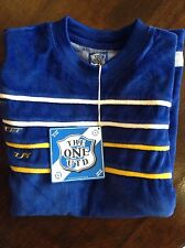 BLUE ' The One United' mens T-shirt in large