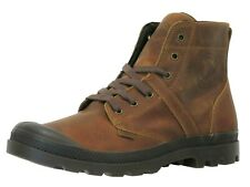 Palladium Men's 03079-237 Pallabrouse lea 2 Leather Combat Boots Brand New