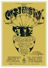 Cream. *POSTER* .Eric Clapton POWER TRIO Live Concert - Blood Sweat & Tears 1967