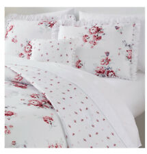 New listing Simply Shabby Chic Sunbleached Floral 4pc King Comforter Set
