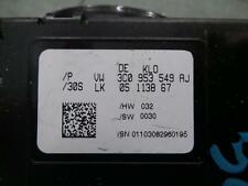 VOLKSWAGEN PASSAT COMBINATION SWITCH 3CC, COMBINATION ASSY, HARDTOP, 01/09- 09 1