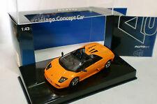 AUTO ART 1/43 - LAMBORGHINI MURCIELAGO CONCEPT CAR MET ORANGE