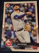 2018 Bowman #100 Kris Bryant Chicago Cubs Baseball Card